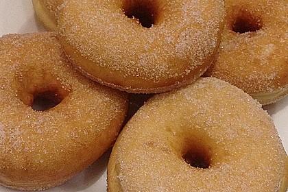 Amerikanische Donuts mit Apfelglasur 1