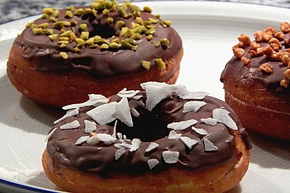 Amerikanische Donuts mit Apfelglasur 3