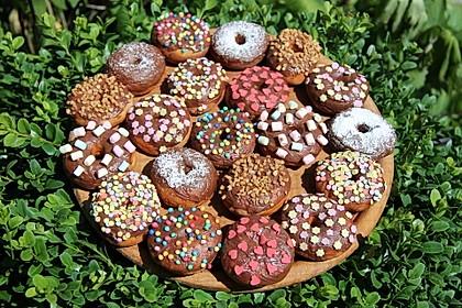 Amerikanische Donuts mit Apfelglasur 2