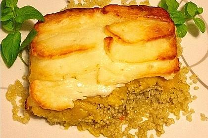 Margies Quinoa-Mango-Auflauf mit Halloumi