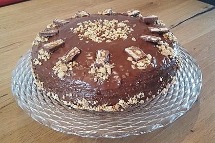 Erdnuss-Karamell-Schokoladentorte 2