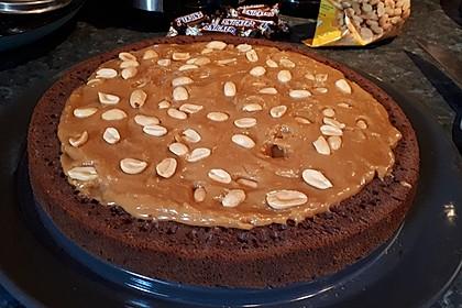 Erdnuss-Karamell-Schokoladentorte 9
