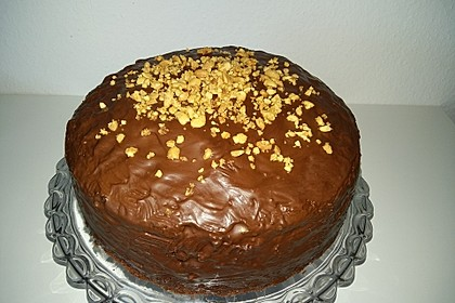 Erdnuss-Karamell-Schokoladentorte 6