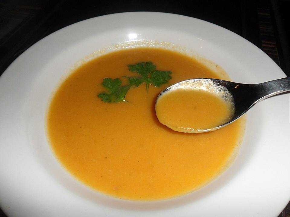 Pastinaken Karotten Suppe Von Neriz Chefkoch