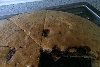 Einfacher Kuchen mit Schokostückchen 4