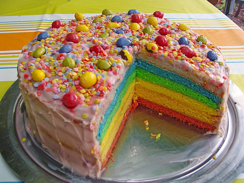 Regenbogen Torte Von Jasemon Chefkoch De