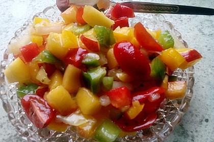 Paprika-Pfirsich-Salat 17
