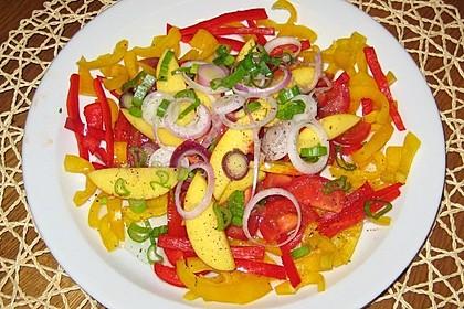 Paprika-Pfirsich-Salat 14