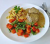 Bohnen-Karotten-Gemüse (Bild)