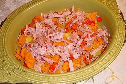 Kartoffel-Gemüsetortilla mit Kräuterquark 8