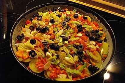 Kartoffel-Gemüsetortilla mit Kräuterquark 7