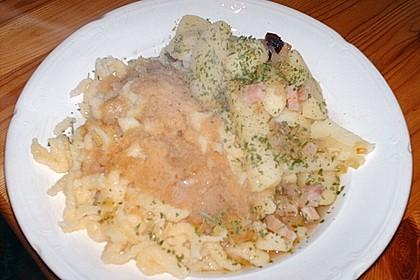 Kartoffelschnitz mit Spätzle