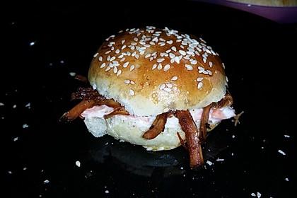 Pulled Pork, zarter Schweinebraten aus dem Ofen - fast original, nur ohne Grill (Bild)