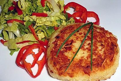 Kartoffel-Sauerkraut-Bratlinge vegetarisch