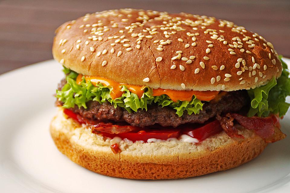 American hamburger rezept original