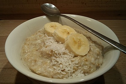 Bananen-Kokos-Porridge 10