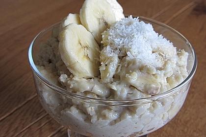 Bananen-Kokos-Porridge 1
