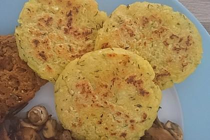 Kartoffel-Polenta-Taler