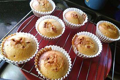 Karamellmuffins mit flüssigem Kern (Bild)