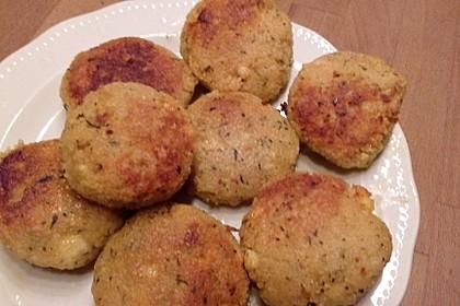 Couscous-Bratlinge mit Käse 34