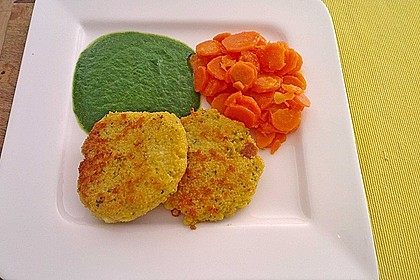 Couscous-Bratlinge mit Käse 37