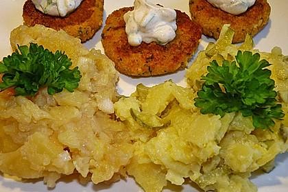 Couscous-Bratlinge mit Käse 69