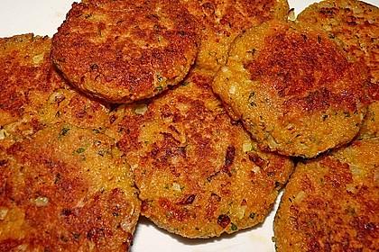Couscous-Bratlinge mit Käse 21