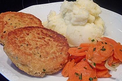 Couscous-Bratlinge mit Käse 19