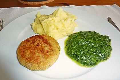 Couscous-Bratlinge mit Käse 48