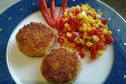 Couscous-Bratlinge mit Käse 43