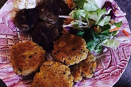 Couscous-Bratlinge mit Käse 63