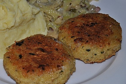 Couscous-Bratlinge mit Käse 20