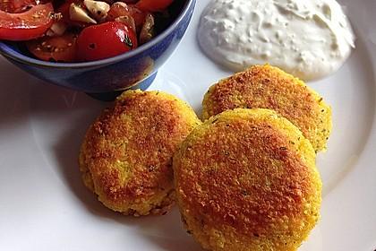 Couscous-Bratlinge mit Käse 4