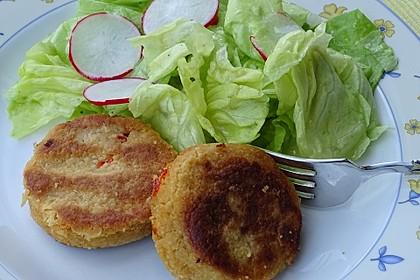 Couscous-Bratlinge mit Käse 16