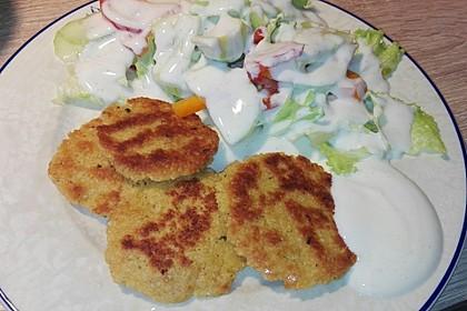 Couscous-Bratlinge mit Käse 78