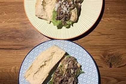Philly Cheese Steak Sandwich 12