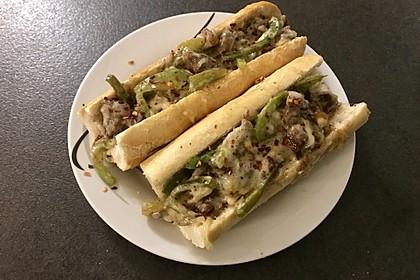 Philly Cheese Steak Sandwich 5