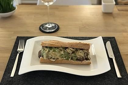 Philly Cheese Steak Sandwich 1