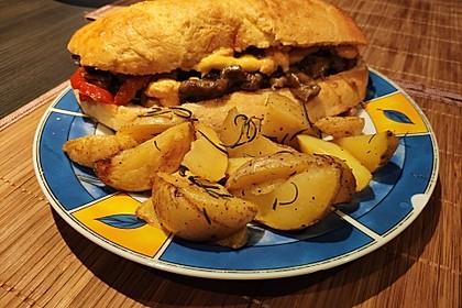 Philly Cheese Steak Sandwich 10