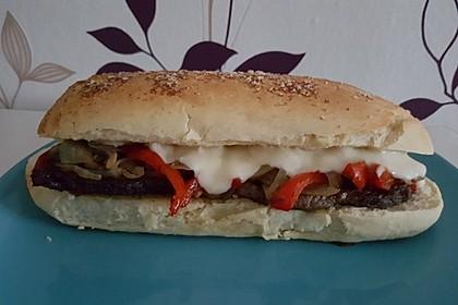 Philly Cheese Steak Sandwich 7