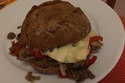 Philly Cheese Steak Sandwich 13