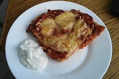 Fladenbrotpizza mit einem Hauch von Knoblauch 2
