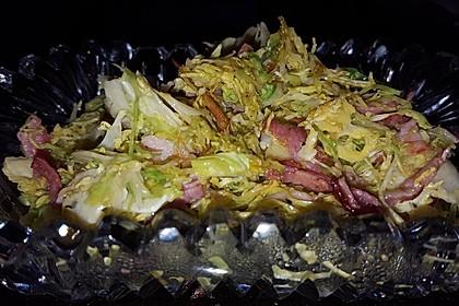 Lauwarmer Salat von rohem Rosenkohl 2
