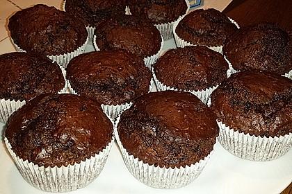 Schoko-Kokos-Nutella-Muffins 24
