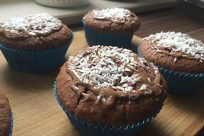 Schoko-Kokos-Nutella-Muffins 12