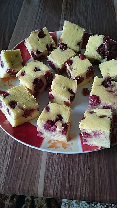 Kirsch Griess Kuchen Von Minimijam Chefkoch De