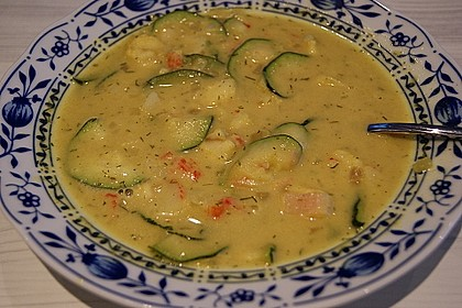 Curry-Fischsuppe 7