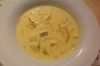 Curry-Fischsuppe 16
