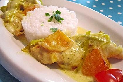 Aprikosen-Curry-Schnitzel 1