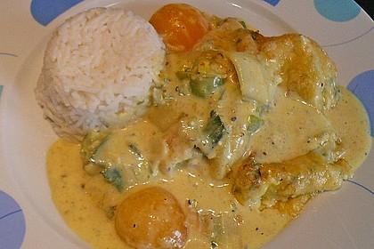 Aprikosen-Curry-Schnitzel 2